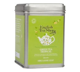 Boîte Thé Vert Tropical bio - 100g - English Tea Shop