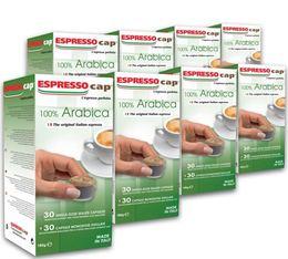 240 x Capsules 100% Arabica pour Cubo Espresso Cap