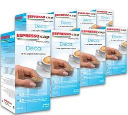240 x Capsules Décaféinées pour Cubo Espresso Cap