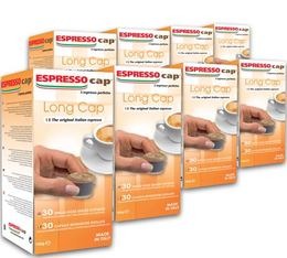 Espresso Cap 'Long Cap' capsules for Espresso Cap machines x 240