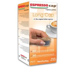 Espresso Cap 'Long Cap' capsules for Espresso Cap machines x 30