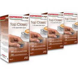 120 x Capsules Top Classic pour Cubo Espresso Cap