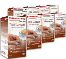 240 x Capsules Top Classic pour Cubo Espresso Cap