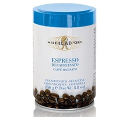 Miscela d'Oro 250g Espresso Decaffeinato ground coffee