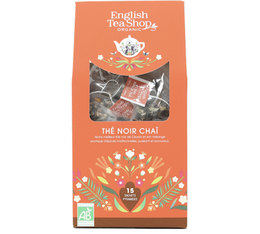 English Tea Shop Organic Intense Chai Tea - 15 tea bags
