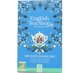 English Tea Shop Darjeeling Black Tea Organic - 20 sachets