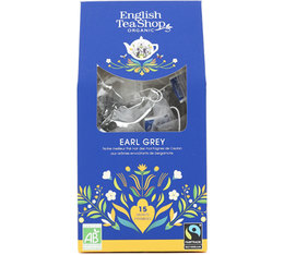 English Tea Shop Organic Earl Grey Tea - 15 tea bags