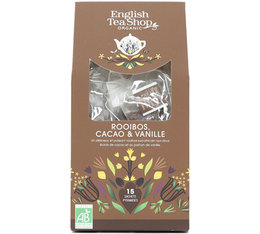 English Tea Shop Chocolate, Rooibos & Vanilla - 15 tea bags