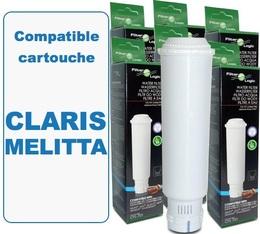 Lot de 6 Cartouches filtrantes Filter Logic FL701 compatibles Claris Melitta