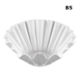Option Bravilor : 1 boîte de 250 filtres papier B5