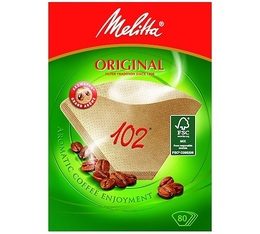 Filtres à café bruns Melitta Original 102 x 80
