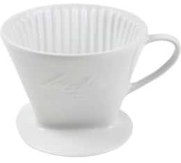 Filtre Melitta 102 en porcelaine pour mug