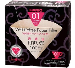 Filters for V60 Dripper 1/2 cups x 100