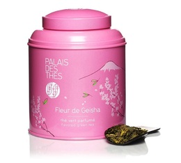 Palais des Thés 'Fleur de Geisha' flavoured green tea - 100g loose leaf in tin