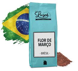 Café moulu : Brésil - Flor de Março - 250gr - Cafés Lugat