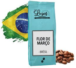 Café en grains : Brésil - Flor de Março - 250gr - Cafés Lugat