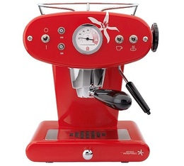 FrancisFrancis Iperespresso ILLY X1 rouge + offre cadeaux
