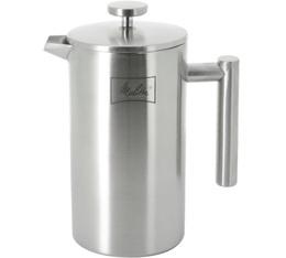 Cafetière à piston Melitta Deluxe double paroi inox 8 tasses