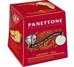 Panettone traditionnel (fruits confits, raisins) - 1Kg - Lazzaroni