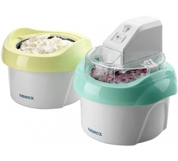 Machine à glace Gelato Duo-mio plus - Nemox