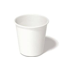 50 gobelets américains blanc  12 cl