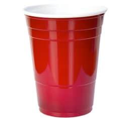 50 gobelets américains rouges - 50 cl (red cups officiel)