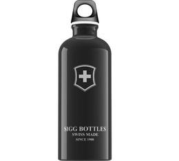 Gourde Sigg Emblème Suisse noire 60cl