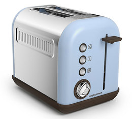 Toaster Accents 2 tranches Bleu Azur - Morphy Richards