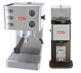 Machine expresso Lelit Grace PL81T + Moulin Lelit William PL71