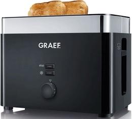 Grille pain Graef TO62EU 2 fentes noir
