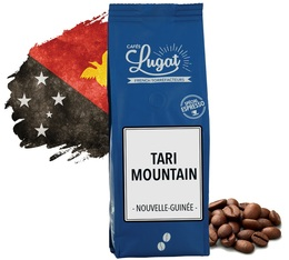 Cafés Lugat Coffee Beans Tari Mountain from Papua New Guinea - 250g