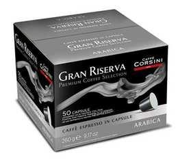 Capsules Gran Riserva Arabica x50 - Caffè Corsini pour Nespresso