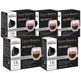 Pack Capsules Gran Riserva Arabica x80 - Caffè Corsini pour Dolce Gusto
