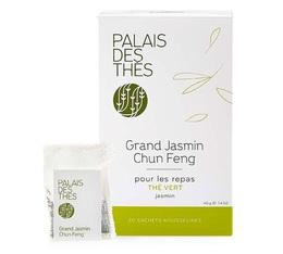 Thé vert Grand Jasmin Chun Feng *20 mousselines - Palais des Thés