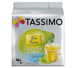 Tassimo pods Twinings Green Tea and Mint x 16 T-Discs