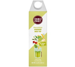 Smoothie Green Me Up sans sucre ajouté, 1 L - One & Only