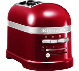Toaster Artisan 2 tranches rouge Pomme d'Amour - KitchenAid
