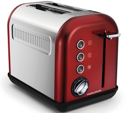 Grille-pain Morphy Richards Accents Refresh 2 tranches Rouge