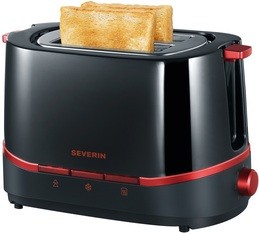 Toaster Select AT 2292 Rouge/Noir 2 fentes - Severin