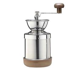 Moulin à café acier 140g Tiamo