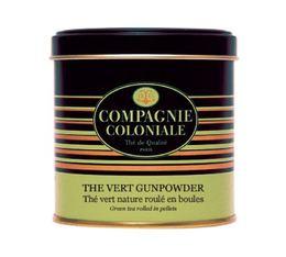 Boite Compagnie Coloniale Thé vert Gunpowder - 150 gr