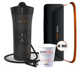Handcoffee autotruck for soft pods (Senseo-type pods) + free gift