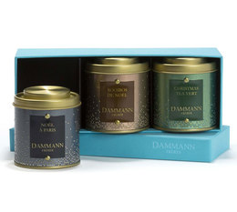 Dammann Frères 'Happy Xmas' Christmas Collection Gift tea set