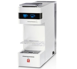 Machine à capsules FrancisFrancis Iperespresso ILLY Y3 Blanche Pack Pro