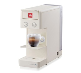 Machine à capsules Y3.2 Iperespresso Blanche Illy + Offre cadeau