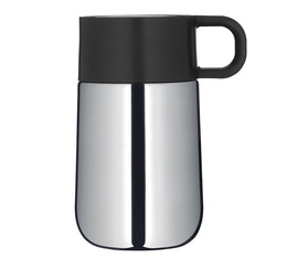WMF 'Impulse' insulated travel mug - 300ml - Stainless steel