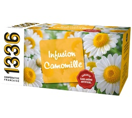 Infusion Camomille - 25 sachets fraicheurs - 1336 (Scop TI)