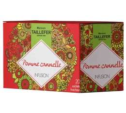 Infusions pomme cannelle - 20 sachets - Maison Taillefer
