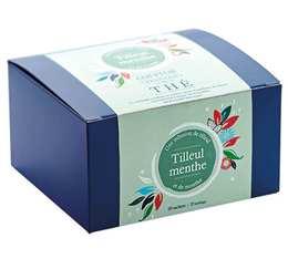 Boîte 20 sachets - Infusion Tilleul Menthe - Comptoir Français du thé