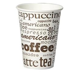 Lot de 100 gobelets coffee Cappuccino / Chocolat chaud / Café long - 23 cl